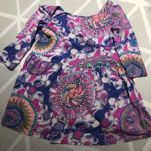 SOLD Lilly Pulitzer Minnie Dress Size M 6-7
